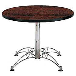 OFM Multipurpose 42 Round Table Mahogany