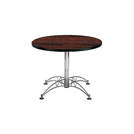"OFM Multipurpose 42"" Round Table, Mahogany"