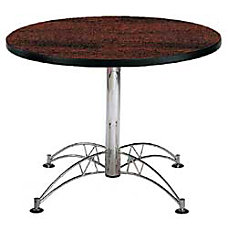 OFM Multipurpose 42 Round Table Mahogany
