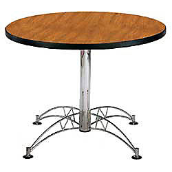OFM Multipurpose 42 Round Table Cherry