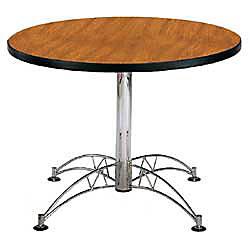 OFM Multipurpose 42 Round Table Cherry