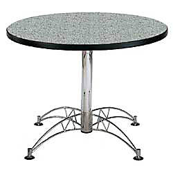 OFM Multipurpose 42 Round Table Gray