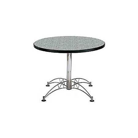 """OFM Multipurpose 42"""" Round Table, Gray Nebula"""