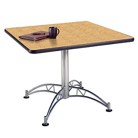 """OFM Multipurpose 42"""" Square Table, Oak"""