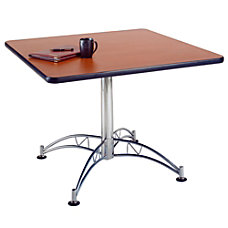 OFM Multipurpose 42 Square Table Mahogany
