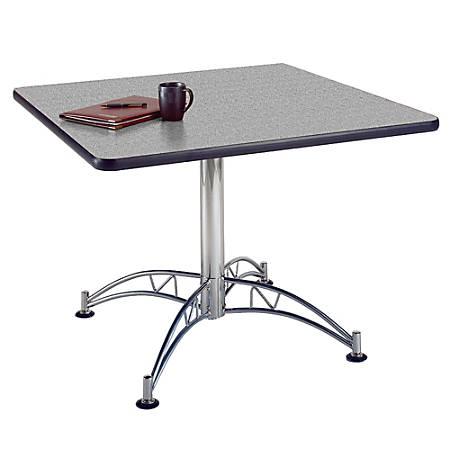 """OFM Multipurpose 42"""" Square Table, Gray Nebula"""