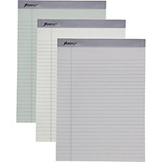 Ampad Pastel Legal ruled Perforated Pads