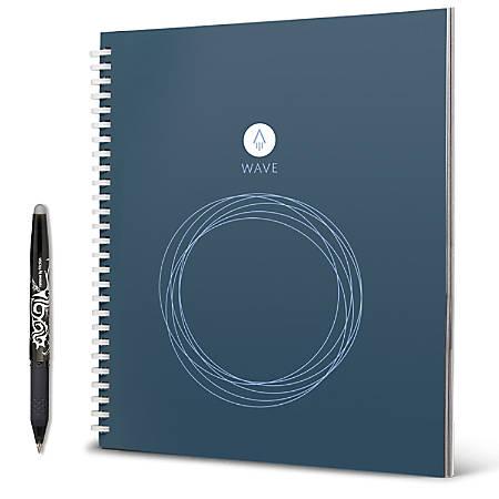 "Rocketbook Wave Cloud-Connected Reusable Smart Notebook, Standard Size, 9.5"" x 8.5"""