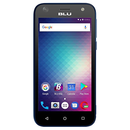 BLU Studio G Mini S210Q Cell Phone, Blue, PBN201318