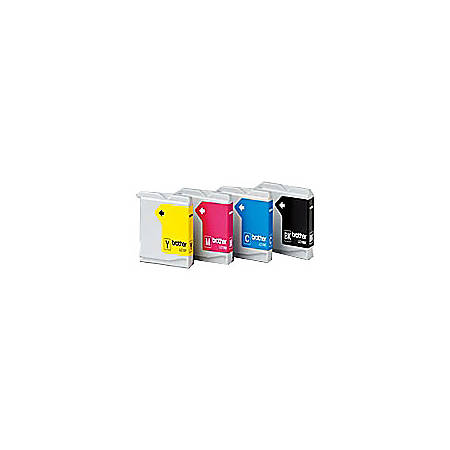 Brother® LC51, Black/Color Ink Cartridges, Pack Of 4