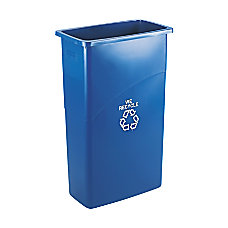 Rubbermaid Commercial Slim Jim Plastic Recycling