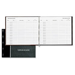 National Visitors Register Book 125 Sheets