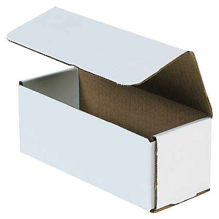 """Office Depot® Brand 16"""" Corrugated Mailers, 5""""H x 5""""W x 16""""D, White, Pack Of 50"""
