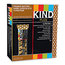 KIND PLUS Dark Chocolate Peanut Butter