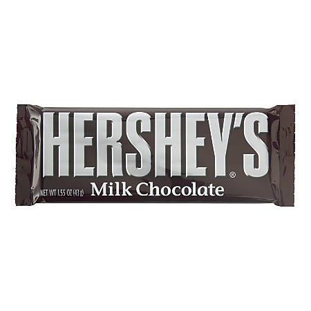 Hershey's® Milk Chocolate, 1.55 Oz, Box Of 36