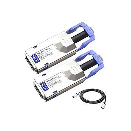 AddOn Dell Force10 CBL-CX4-5M Compatible 10GBase-CX CX4 to CX4 Direct Attach Cable (Passive Twinax, 5m)
