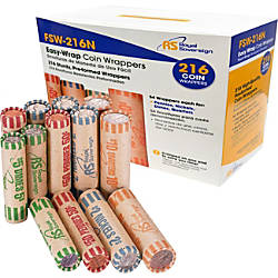 Royal Sovereign Assorted Coin Wrappers Pack