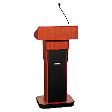 AmpliVox Executive Adjustable Sound Column Lectern