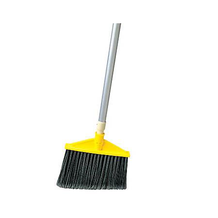 "Rubbermaid® Angled Aluminum Broom, 48 7/8"", Gray"