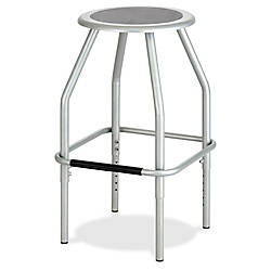 Safco Diesel Adjustable Height Steel Stool