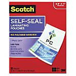 Scotch Self Sealing Laminating Pouch 9