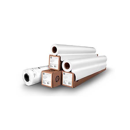 "HP DesignJet Large-Format Instant-Dry Photo Paper, Premium, Satin, 60"" x 100', White"