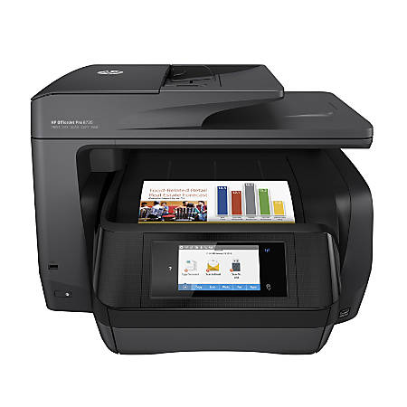 HP OfficeJet Pro 8720 Wireless All-in-One Printer with Mobile Printing - Black (M9L74A)
