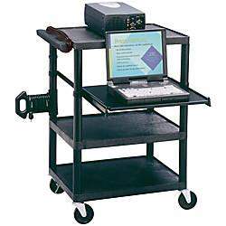 Quartet Multimedia Projector Cart 35 H