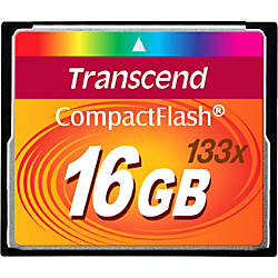 Transcend 16GB CompactFlash CF Card 133x