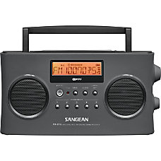 Sangean FM Stereo RDS RBDS AM