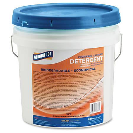 Genuine Joe Economical Powdered Laundry Detergent - Powder - 1 Each - Assorted
