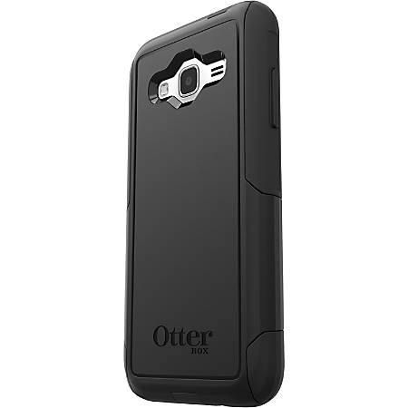brand new 32fd0 503d1 OtterBox Galaxy J3 (2016)/J3 V Commuter Series Case - For Smartphone -  Black - Impact Absorbing, Dust Resistant, Dirt Resistant, Lint Resistant,  ...