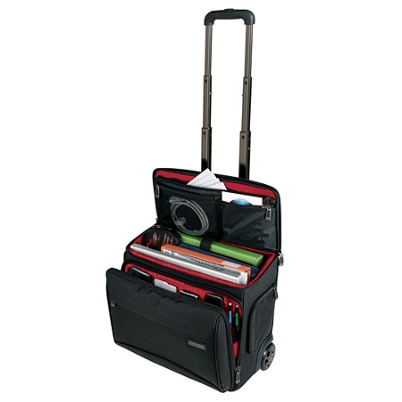 518c81665f0d Ativa™ Mobil-IT Rolling Briefcase Ultimate Carry-On Workmate, 11.5