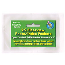 Ashley Productions PhotoIndex Card Pockets 4