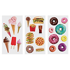 Divoga Sticker Sheets Food Assorted Designs