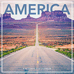 Landmark America The Beautiful Monthly Wall