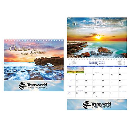 Christian Reflections Wall Calendar, Spiral