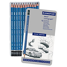 Staedtler Mars Lumograph Design Pencil Set