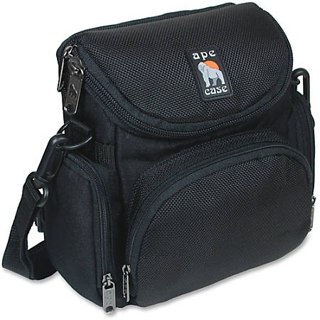 "Ape Case AC250 Camcorder/Digital Camera Case - Water Resistant - Nylon - Shoulder Strap - 7.3"" Height x 7.1"" Width x 4.1"" Depth"