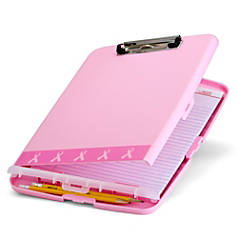 Breast Cancer Awareness BCA Slim Clipboard