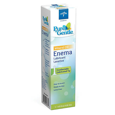 Pure & Gentle Mineral Oil Enemas, 4.5 Oz, Case Of 24 Enemas