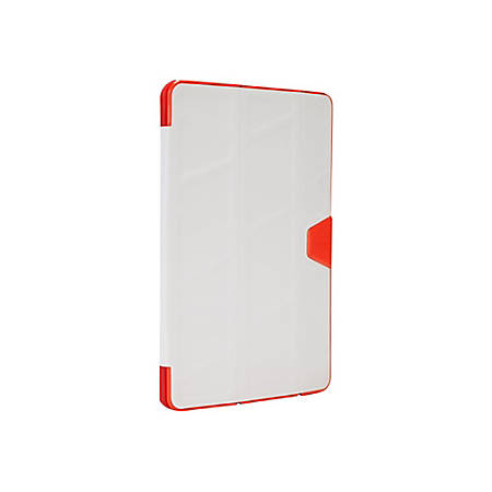 "Targus 3D Protection THZ52201US Carrying Case iPad Air 2 - Light Gray, Red - Bump Resistant Interior, Drop Resistant Interior, Shock Absorbing Interior, Dirt Resistant, Water Resistant, Knock Resistant - 9.5"" Height x 6.8"" Width"