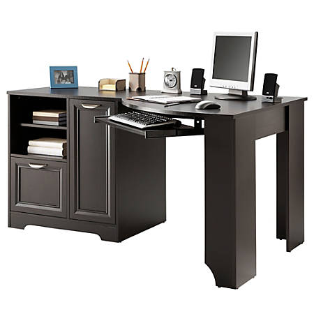 Espresso Corner Desk Toddler Art Desk