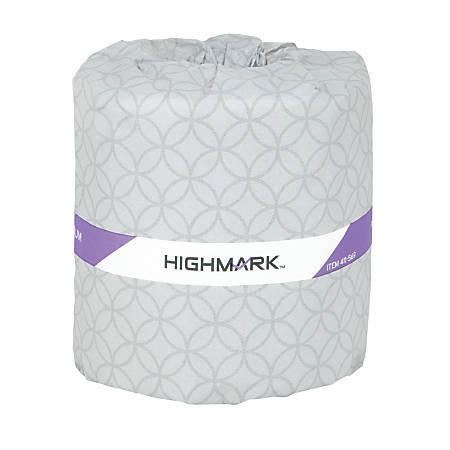 Highmark® Premium 2-Ply Bath Tissue, White, 420 Sheets Per Roll, Case Of 60 Rolls