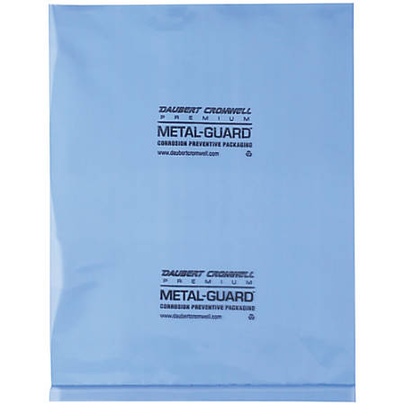 """Office Depot® Brand VCI Flat 4-mil Poly Bags, 9"""" x 12"""", Blue, Case Of 1,000"""