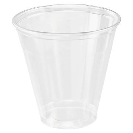 Dart® Ultra Clear™ PET Cups, 5 Oz, Clear, 100 Cups Per Bag, Carton Of 25 Bags