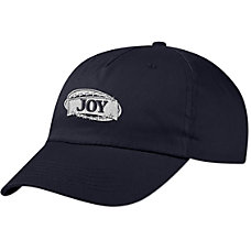 Unstructured Embroidered Cap