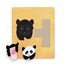 Ellison SureCut Die Panda Finger Puppet