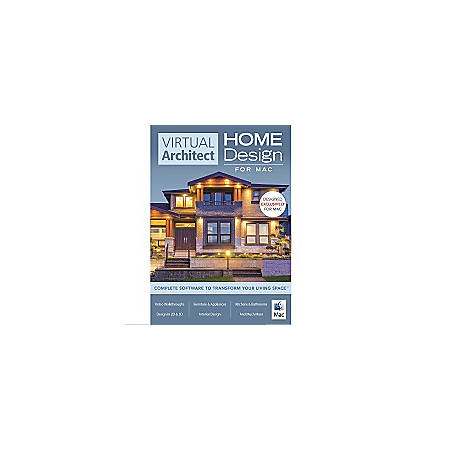 Virtual Architect Home Design Software for Mac