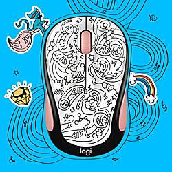 Logitech Doodle Collection M325C Wireless Mouse
